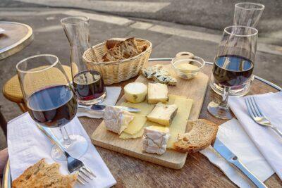 Dégustation à l'aveugle vins et fromages
